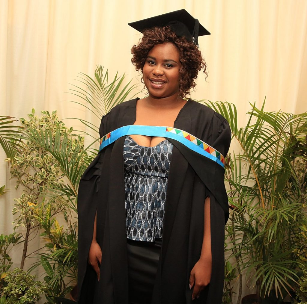 Media Student graduates with Masters in Arts