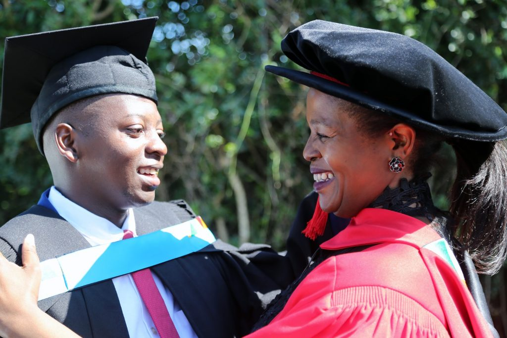 Mother and Son graduate with degrees from UKZN