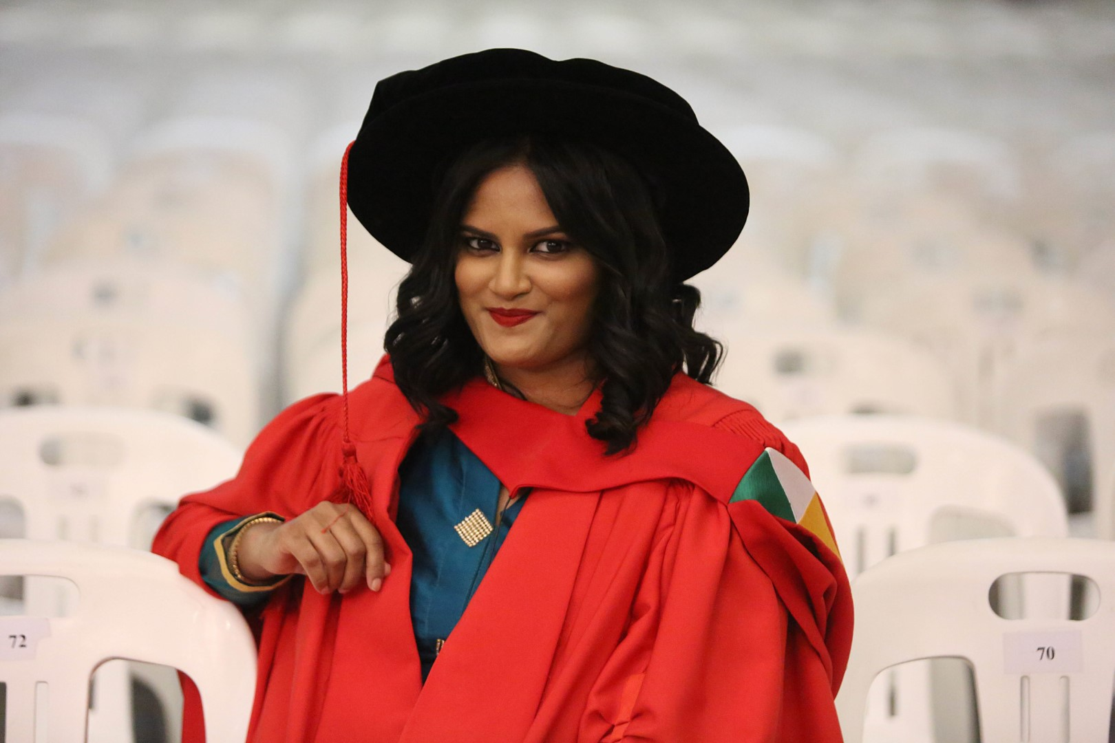 Dr Shaaista Moosa graduates with her PhD in Education from UKZN.