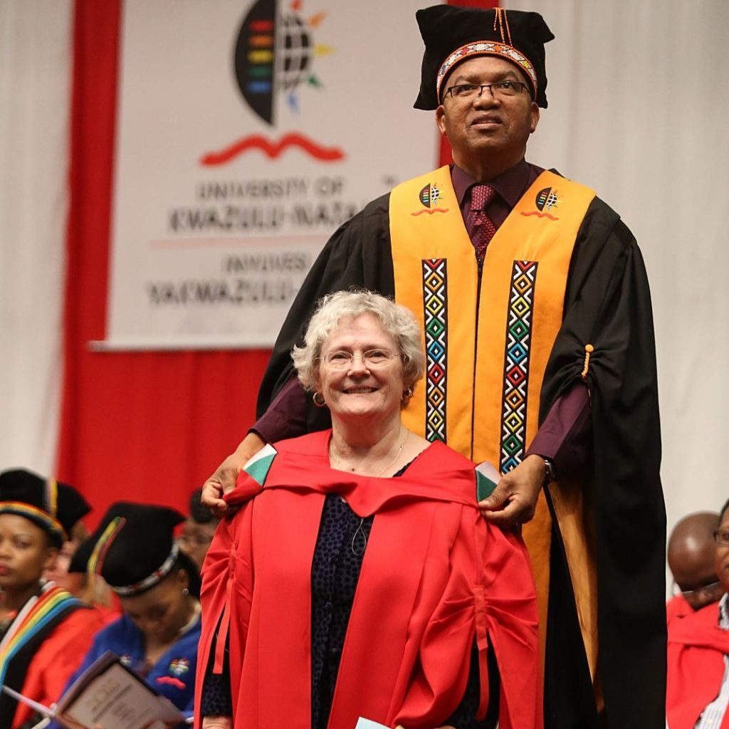 UKZN's oldest graduate's tale of grace and great triumph