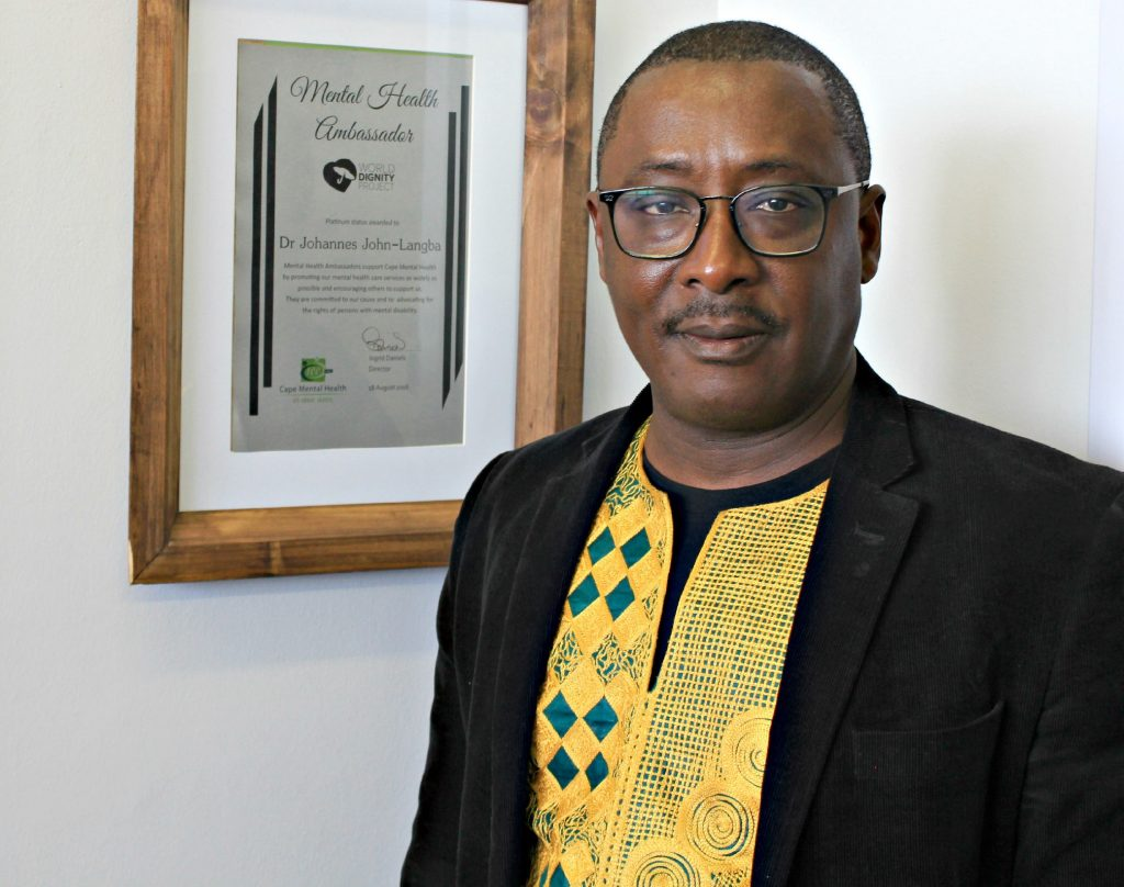 Social Work Academic Elected of Cape Mental Health Vice-President