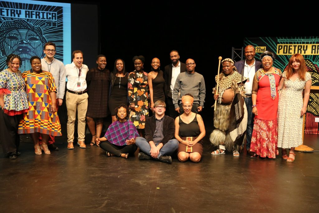 Poetry Africa opening night wows audience