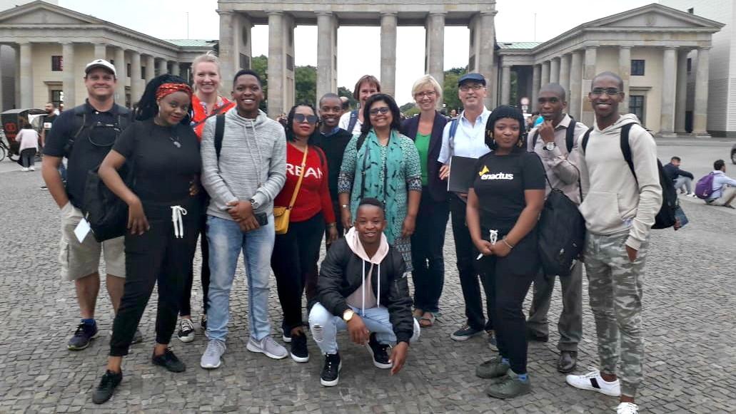 UKZN students enjoy a study tour in Germany.