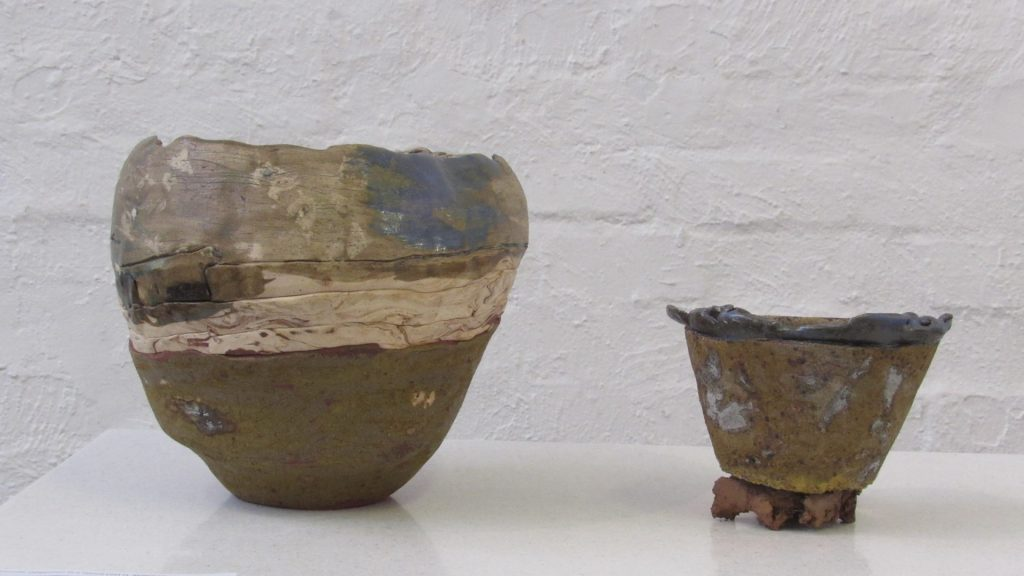 Fine Arts student exhibits Ceramic Works at Jack Heath Gallery