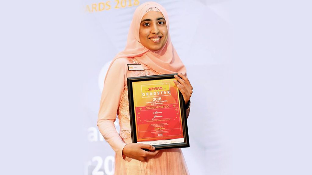 Linguistics Student Scoops Gradstar Top 100 Award