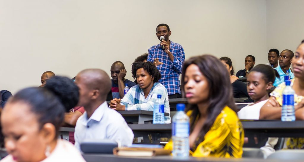 Students raise questions based on decolonisation
