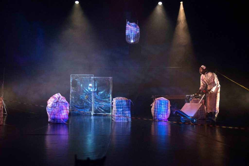 The JOMBA! Opening performance featured Johannesburg-based Moving into Dance Mophatong