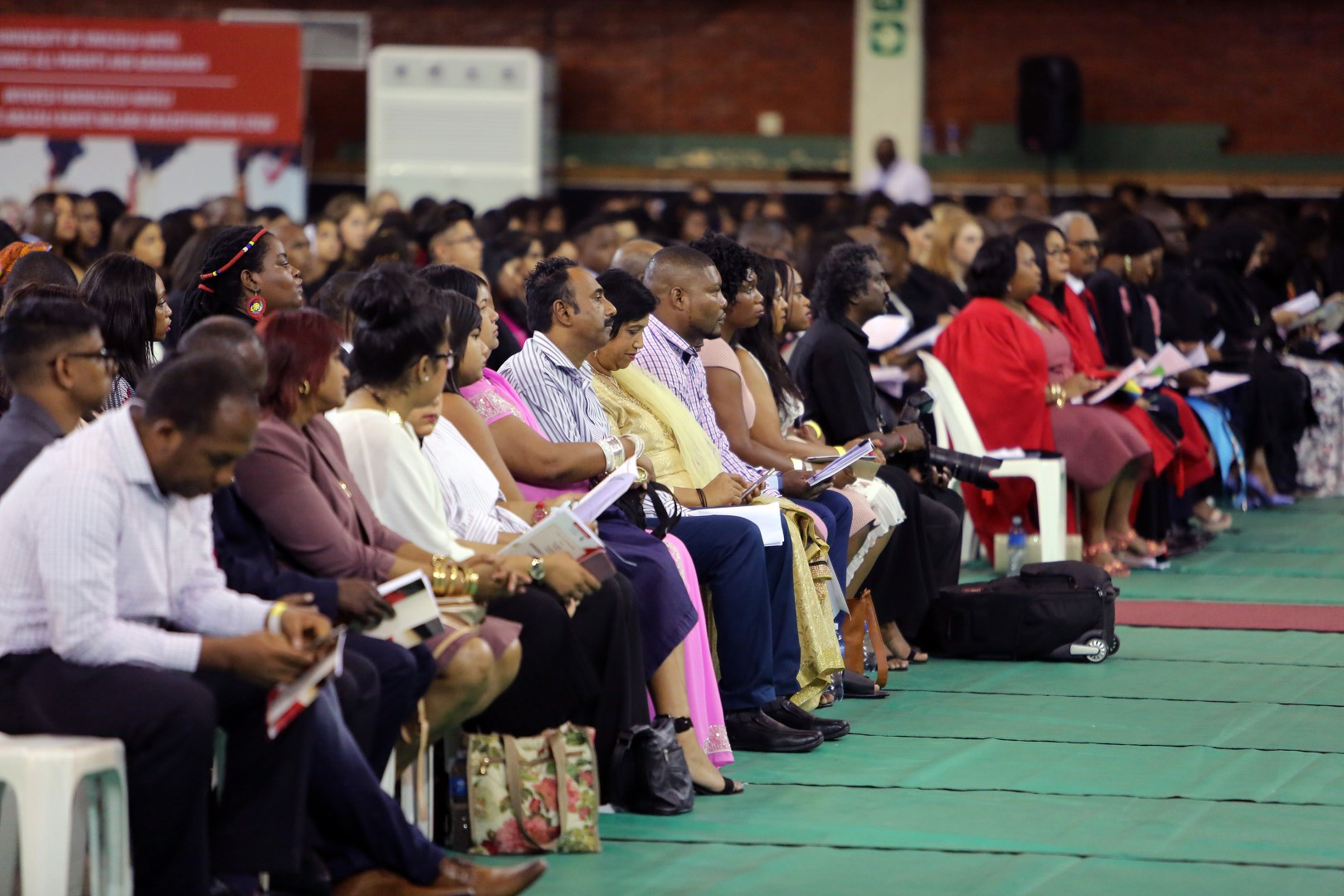 A packed hall for the UKZN graduation ceremony