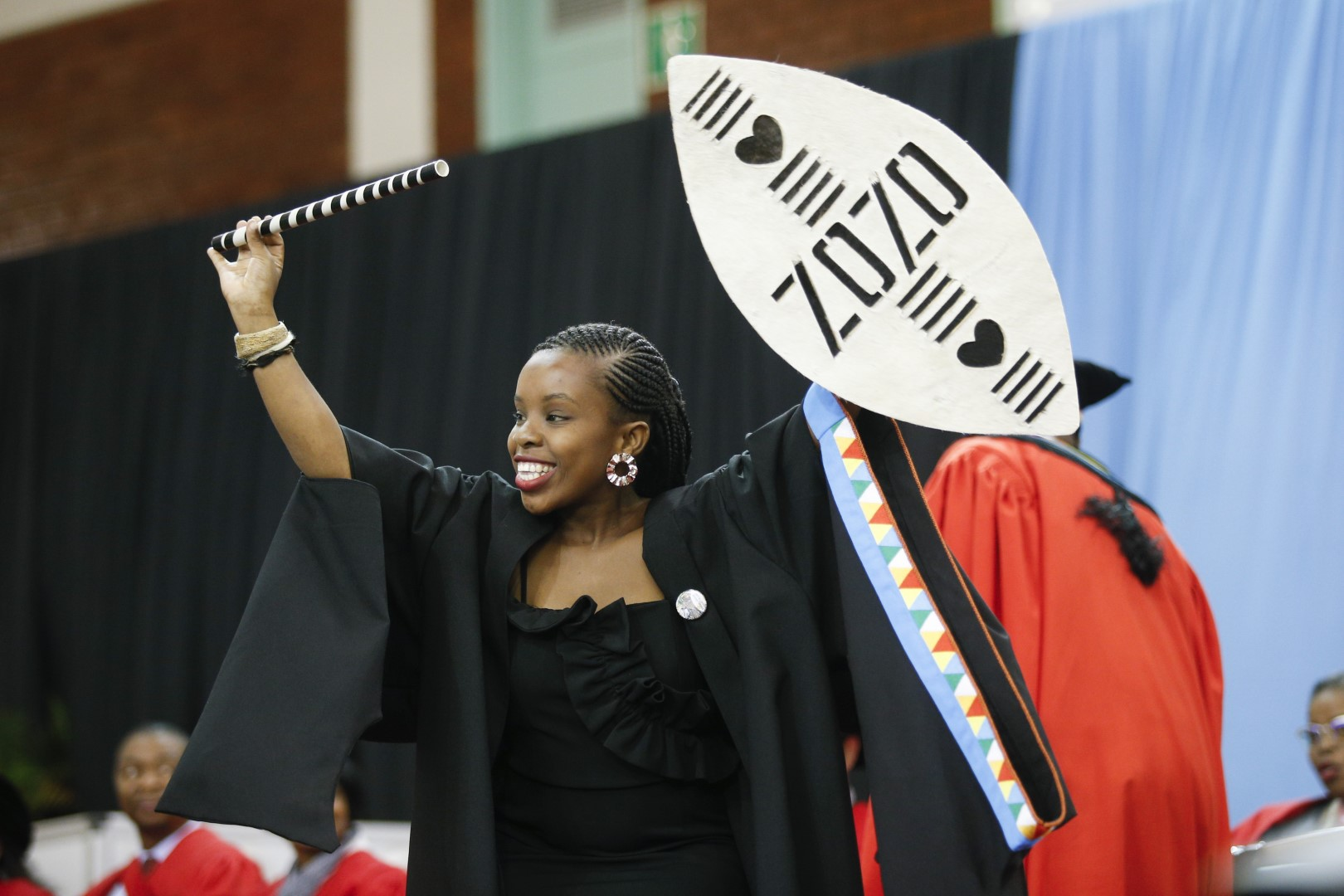 African Culture prominant at UKZN grad