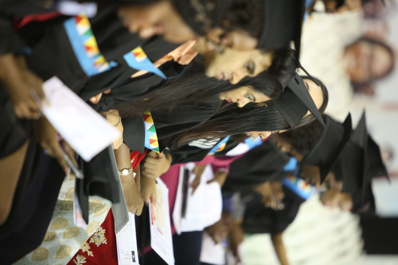Graduates from the College of Humanities