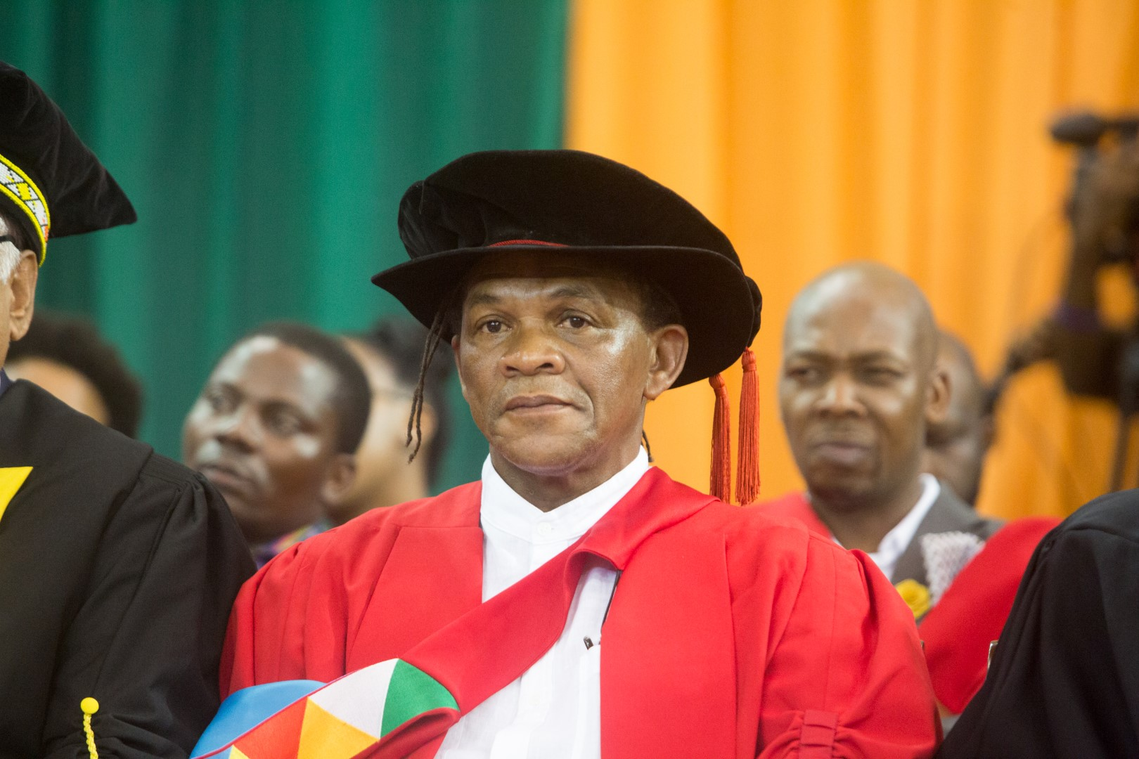 Honorary Doctorate recipient Dr Willie Bester
