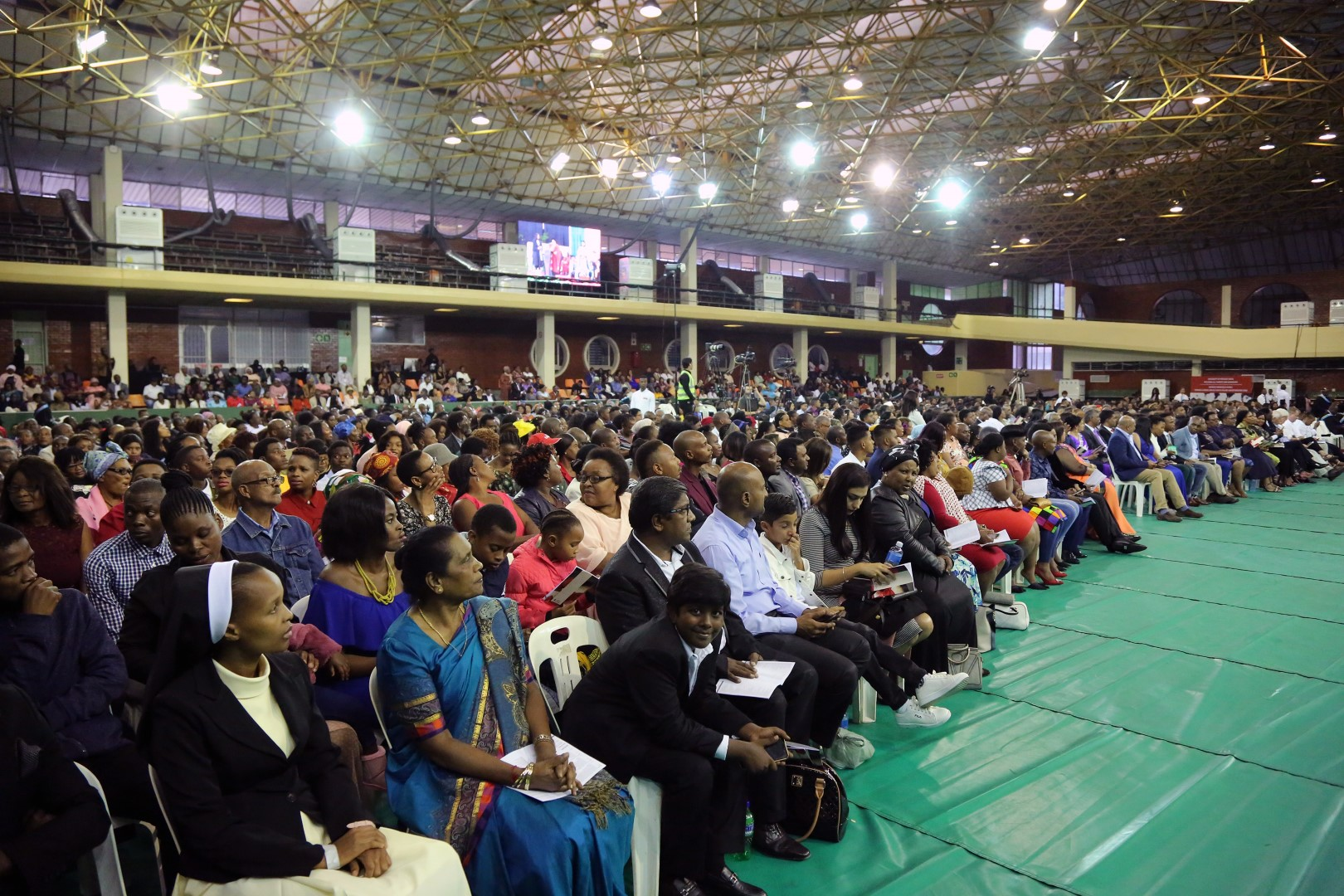 Parents Family and Friends show support at the UKZN graduation