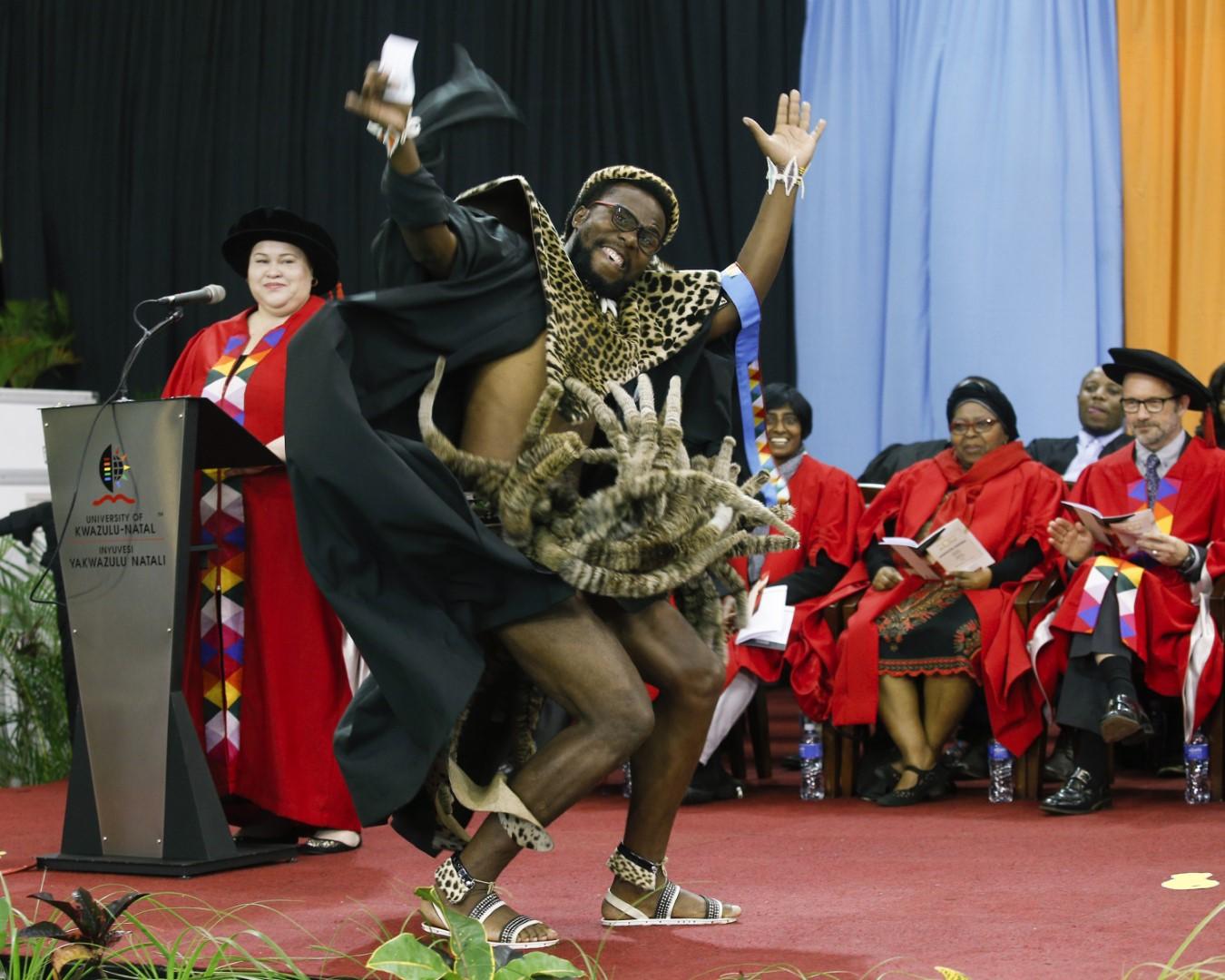 Proud Zulu student graduates