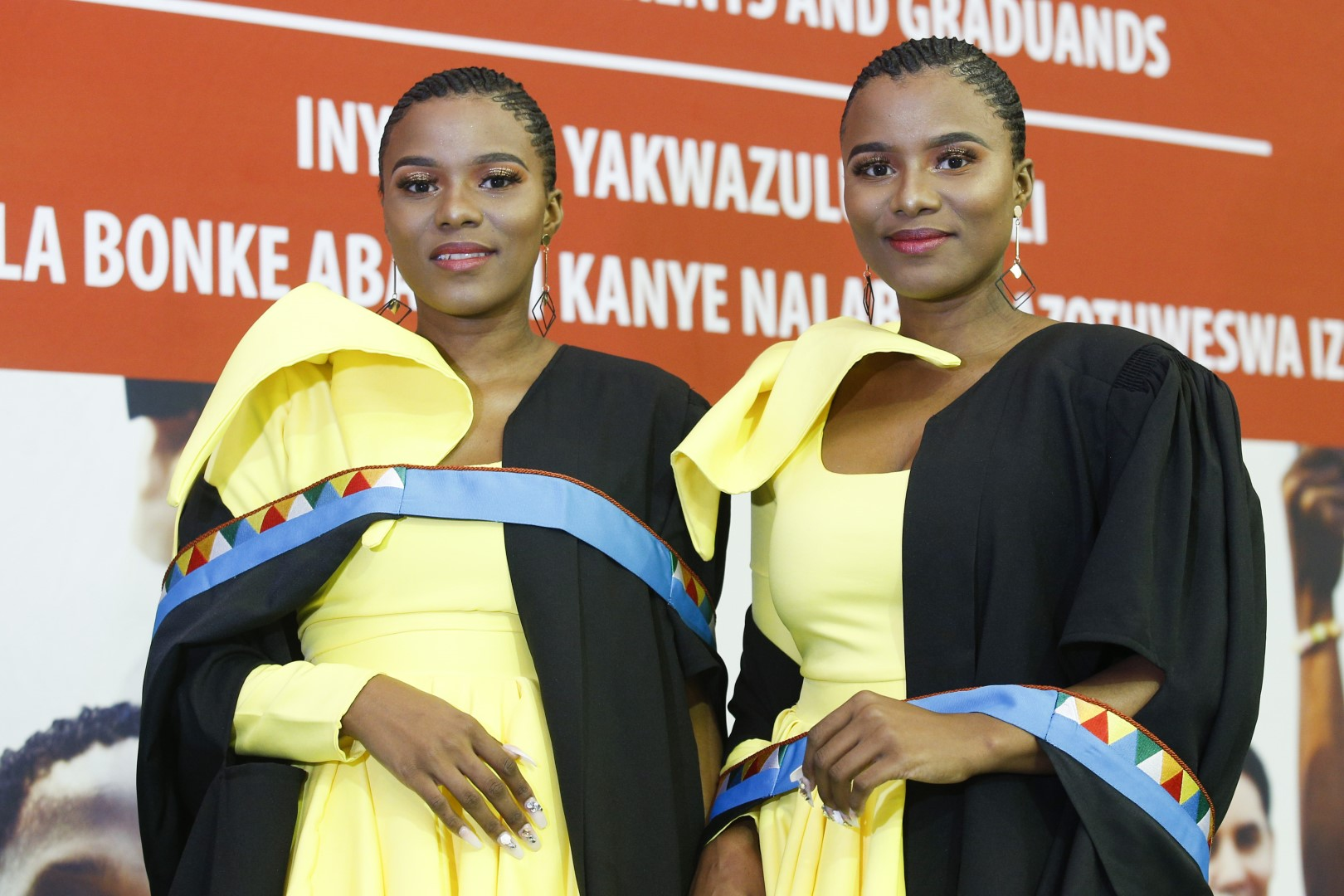 Twins Wanele and Anele Ngcobo graduate from UKZN with Postgraduate Certificates in Education
