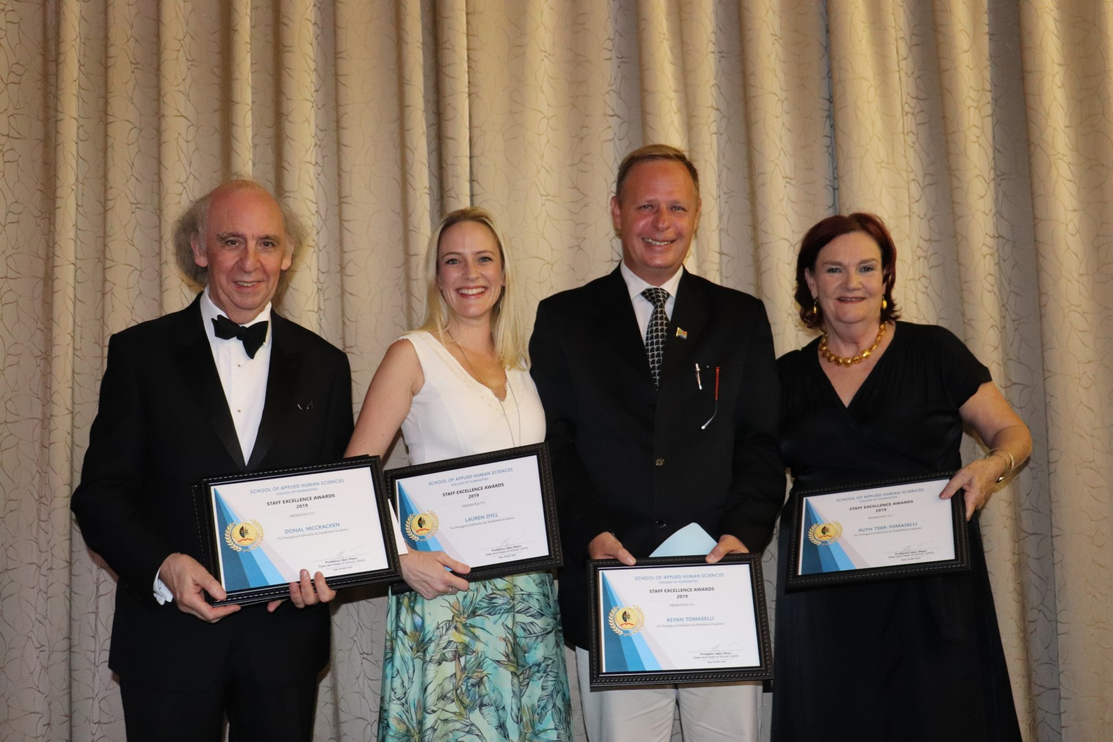 Highlights from the School of Applied Human Sciences staff awards.