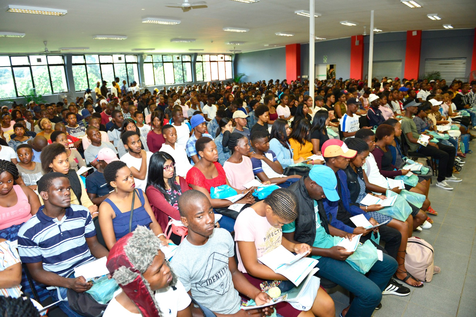 First Year Education Students attend their orientation session