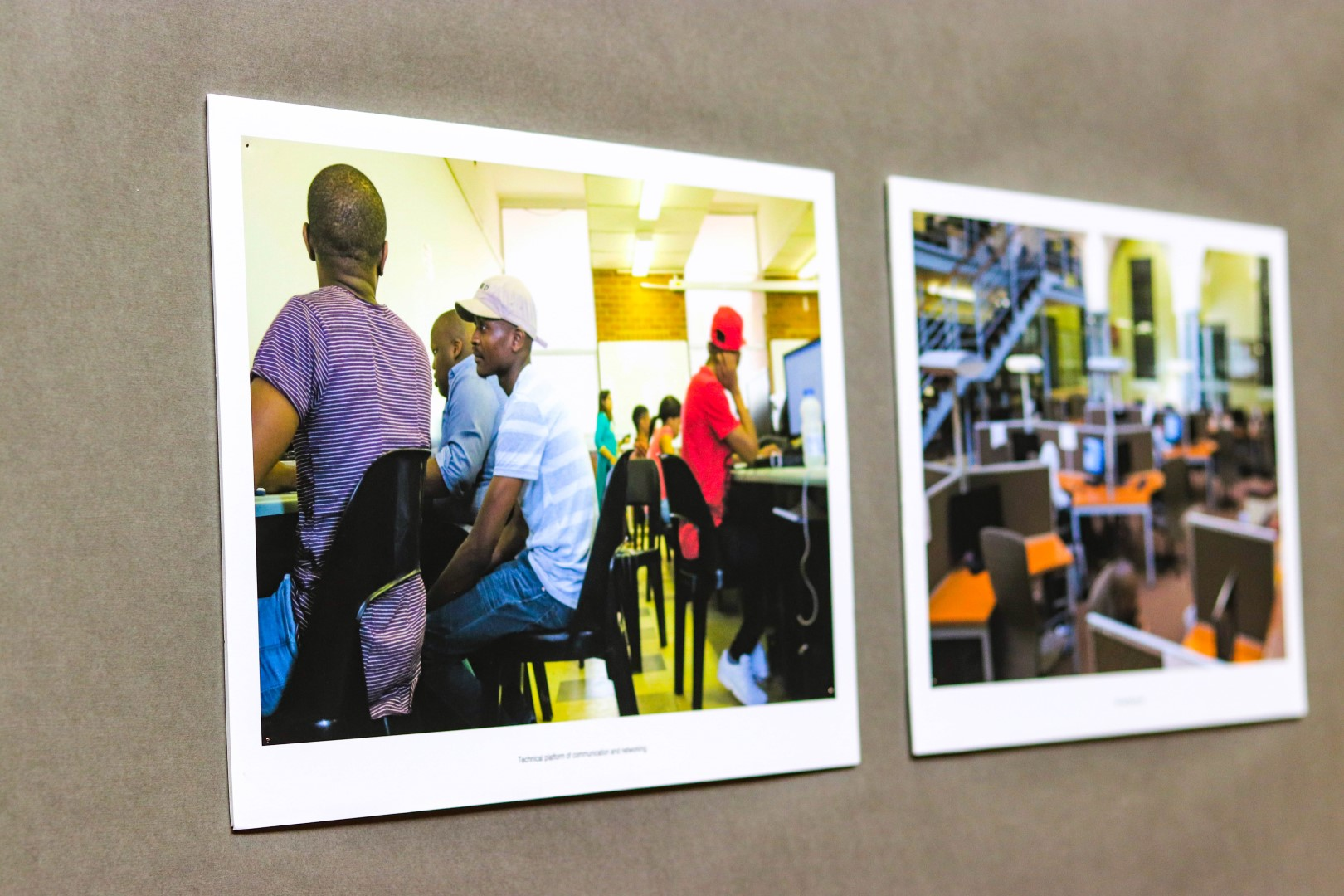 Images showcase being a student in higher education in a post-apartheid South African university