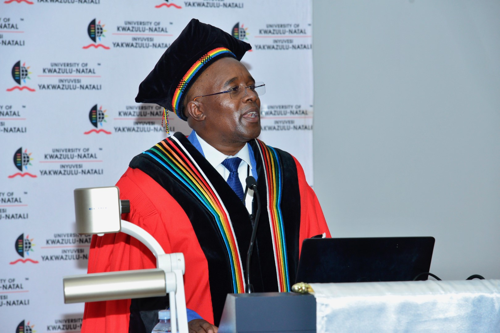 College Dean of Research Prof Pholoho Morojele speaks about the importance of an inaugural lecture