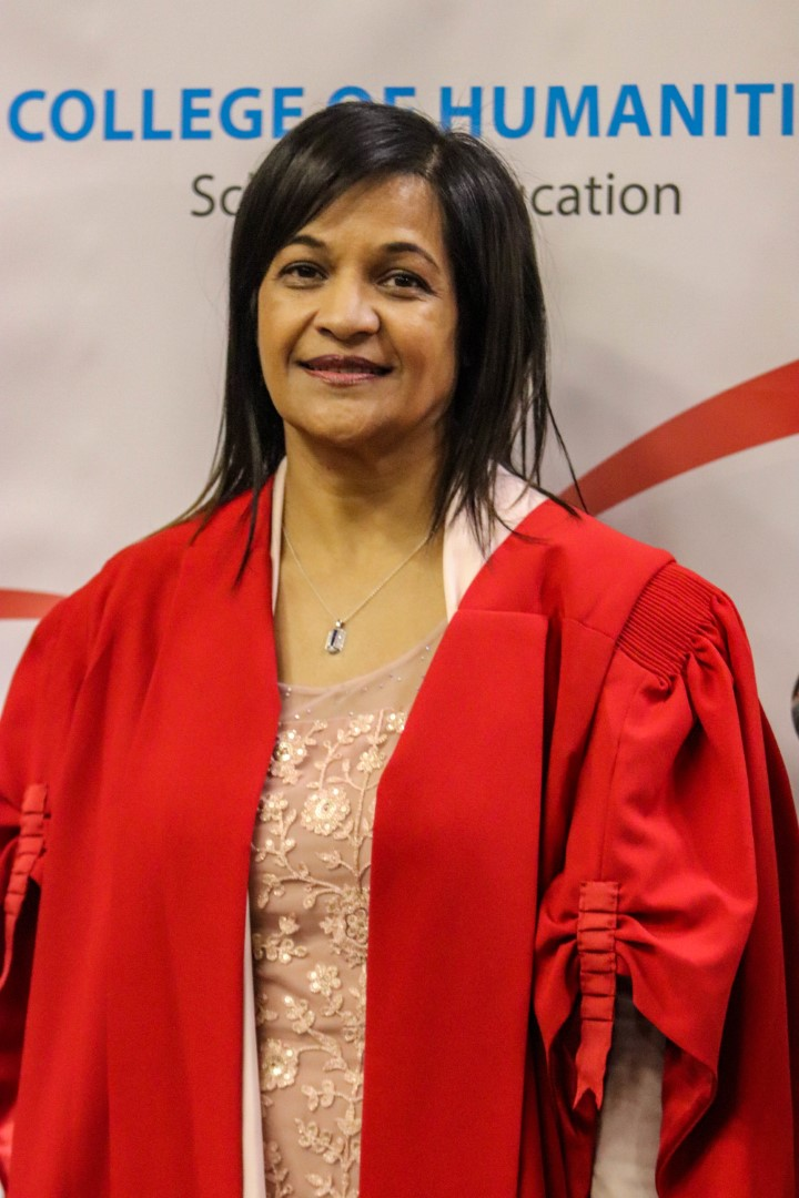 Prof Sarah Bansilal is now part of the professoriate