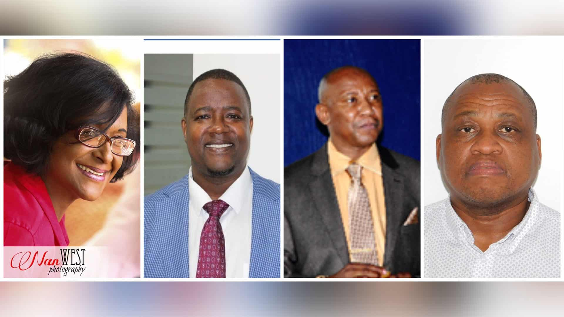 From left to right: Dr Roshanthni Subrayen, Professor Tsediso Makoelle, Professor Monaheng Sefotho and Professor Dipane Hlalele.