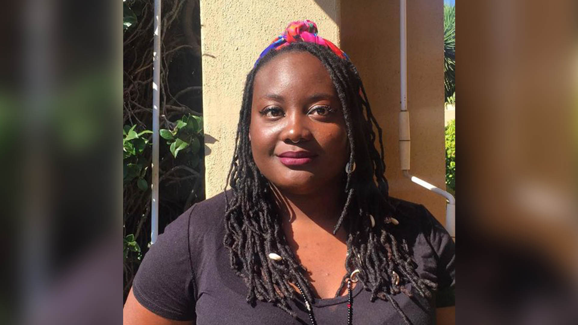 South Africa-based Ms Efemia Chela, the Quay Words/English PEN digital writer-in-residence for February 2021.